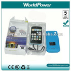 Iphone external power bank,portable power pack,portable power source