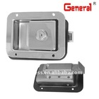 lock for generator set canopy