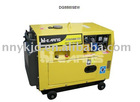 Welder and generator double functions machine