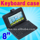 "USB Keyboard & Leather Case for 8"" Tablet MID ePad PC"