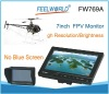 "New Arrival Feelworld FW769A RC helicopter kit 7"" HD FPV Monitor w/ Sun shield No Blue Screen"