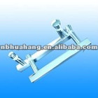 Stainless steel shower room glass door handle