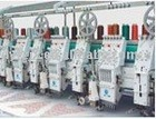 coiling mixed head embroidery machine