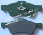 CHRYSLER, DODGE ceramic brake pads GDB4129, D857-7733, FDB1510