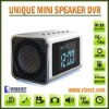 Hidden MP4 Recorder in Multifunctional Mini Speaker Supports Night Vision