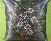 cheaper new flower design cushion cover