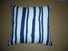 Chenille Jacquard weave with Stripe cotton sofa cushion