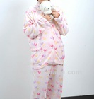 Flannel Pajamas/microfiber bathrobe/wholesale robes