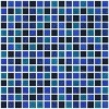 blue and black mosaic