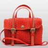 2012 sheep genuine leather wholesale handbag china