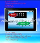 1GHZ 9.7 inch android 2.2 MID; WIFI, G-SENSOR