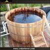 Portable houten hot tub