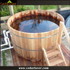 Portable houten hot tub