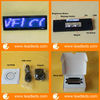 USB rechargeable led scrolling badge With 12x48 Pixel