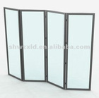 Fashion movable showcase screen