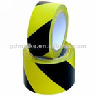 Balck Yellow PVC Security Packing Tape