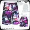 New Design Short 100% polyester printed board shorts
