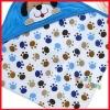 Blue Cartoon Dog Model Cute Baby Bathrobe