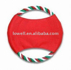 Christmas Pet Frisbee Flying Ring Toy