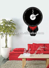 Novelty Person Shaped Wall Sticker Clock
