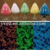 glow master batch, luminescent resin/master batch/photoluminescent PVC resin