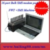 16 port 64sims Wireless Fixed Terminal 16 Port with 64 sim cards Quad-band GSM/GPRS FWT