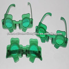 Shamrock glasses St. Patrick's Day glasses fashion glasses