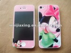 for iphone 4s 4g mobile phone screen protector full body sticker
