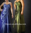 2012 spaghetti strap sprinkle beads and sequins prom dress 75885K