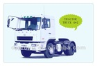 New CAMC 340hp heavy tractor truck head 4x2 with cummins engine