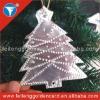 2012 Hot Sale Aluminum Christmas Ornament/Logo Etched Aluminum Christmas Ornament