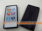 X pattern case /TPU case for ipod nano 7