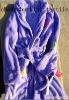 Microfiber bathrobe