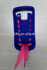 silicone case shoelace for Nokia C3
