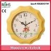 28.5cm Quartz wooden decorative painting clock