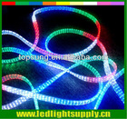 rgb led rope light 5 wire clear multi-color