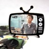 Acrylic TV shade Picture Frame