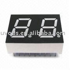 7-segment LED Display with 0.54-inch Digit Height and Solid State Reliability