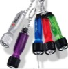Portable led keychain with mini tool 2 bits
