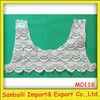 Cotton lace collar for ladies suit