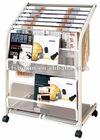 folding information display racks