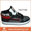 Fashion men skate shoe with mid cut collar