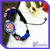 2012 Crystal UK Balls Ajustable Shambala Watch Wholesale Jewelry