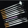 Nail art gel brush for nail care