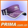 embroidery advertising sun visor cap