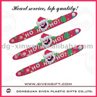 christmas gifts soft pvc wristband