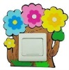 Catoon Flowers Decoration EVA Foam Switch Sticker
