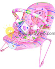 Inflatable Pink Dolphin baby bouncer