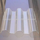 Clear/Transparent Industrial Corrugated PC Sheets for Industrial Sheds/Warehouse