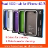 1900mah External Battery Charger for iphone4/4s